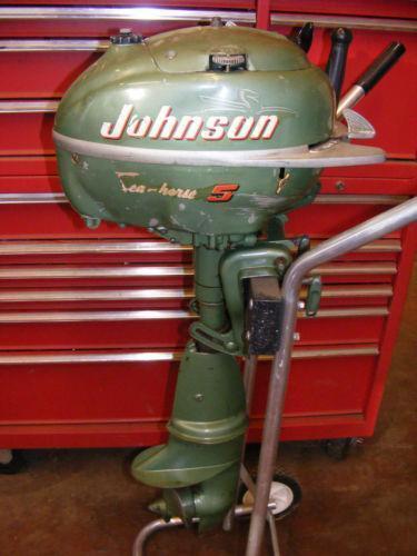 5hp outboard motor johnson ebay for Ebay boat motors outboard