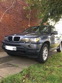 BMW X5 3.0i - MANUAL - can swap