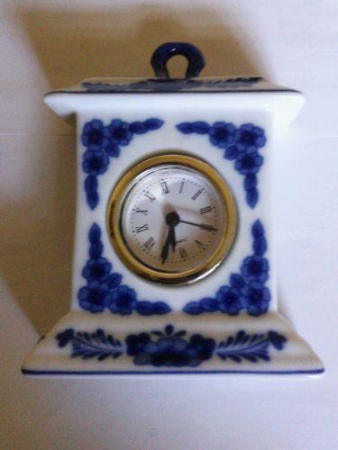 Vintage Porcelain Clock Ebay
