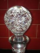 Edinburgh Crystal Ships Decanter