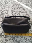 Brown Coach Makeup Bag