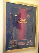 Signed Barcelona Football Shirt