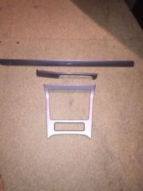 VW Volkswagen golf front sliver dash trim