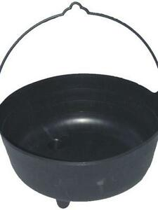 how to make a large witches cauldron