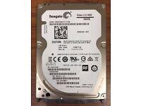 """Seagate ST500VT000 500GB 16MB SATA 3.0Gb/s Video 2.5"""" Hard Drive"""