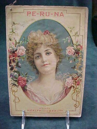 QUACK MEDICINE PERUNA 1900 WOMAN