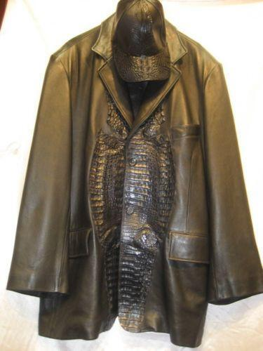 Crocodile Skin Jacket Ebay