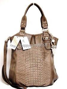 Kathy Van Zeeland Studded Handbag