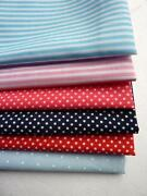 Multi Coloured Polka Dot Fabric
