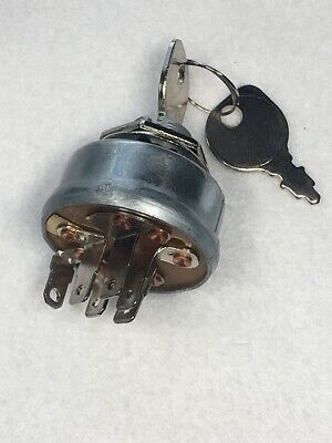 IGNITION SWITCH & KEYS for Briggs & Stratton 490066 493625 692318 825129 NEW
