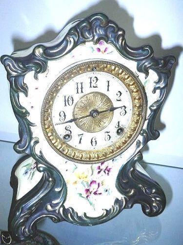 Porcelain Clock Ebay