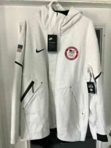 Nike Tech Fleece Windrunner Team USA Jacket Olympics Men's Sz XL 909530 100