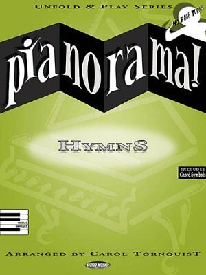 Pianorama  Hymns Music Book By Carol Tornquist Unfold   Play Brand New On Sale