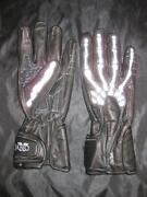 Leather Skeleton Gloves