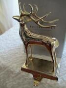 Pottery Barn Silver Reindeer