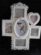 Large White Shabby Chic Frame