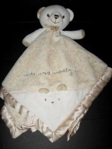 Carters Bear Security Blanket Ebay