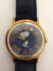 Snoopy 1958 peanuts ebay for Snoopy watches