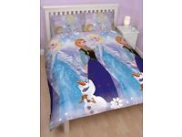 Frozen duvet double and 2 pillowcase brand new sealed