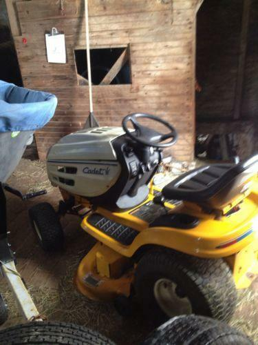 Cub Cadet Riding Lawn Mower Ebay