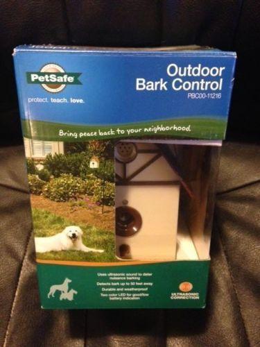Petsafe Pet Outdoor Ultrasonic Dog Bark Deterrent Control...