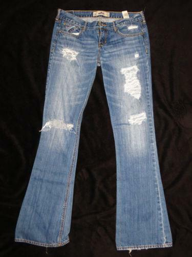 Hollister Destroyed Jeans | eBay