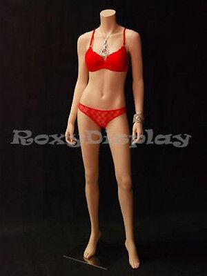 Fiberglass Female Headless Display Mannequin Manikin Manequin Dress Form #A3BF