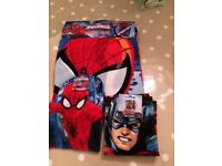 Spider-Man Towel Set — New & With Original Tags