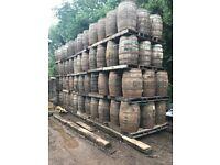 Used Oak Barrels 200 Litres