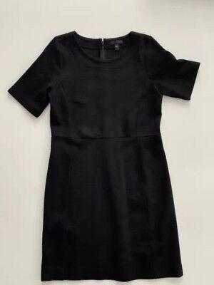 Stretch-wolle T-shirt (J Crew Wolle Stretch Gestrickt Petite Getäfelte Businesskleid T-Shirt Kleid 12P)