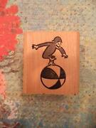 Curious George Stamp