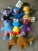 Sesame Street Plush Lot