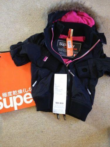 Girls Superdry Jacket Ebay