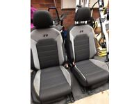 Genuine VW Golf R MK7 front seats