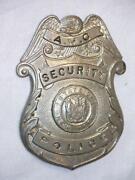 New York Police Badge