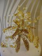 Golden Wedding Cake Decorations
