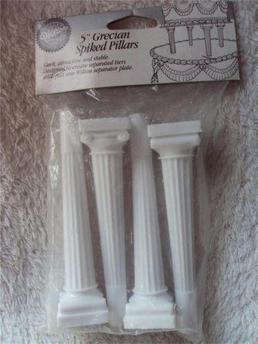 wedding cake separator plates and pillars cake pillars ebay 24273