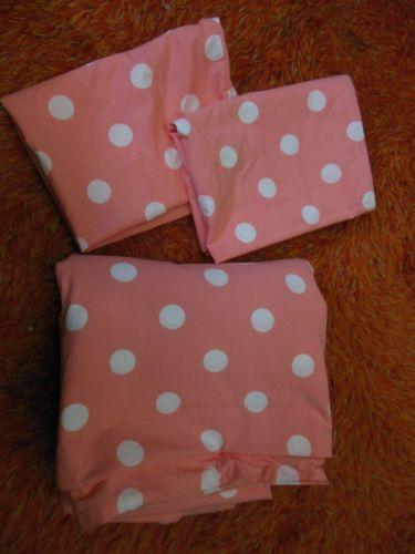 Pink Polka Dot Bedding Ebay