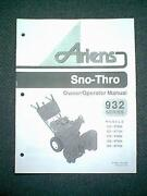 Ariens Snowblower Manual