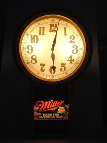 Vintage Beer Clock Ebay