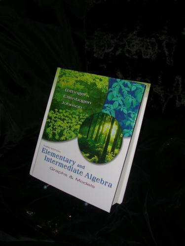 Elementary and intermediate algebra textbooks education ebay fandeluxe Gallery