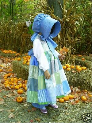 NEW Handmade Rare Holly Hobbie Halloween Costume 4PC Set/Stage Play Child Size - Holly Halloween