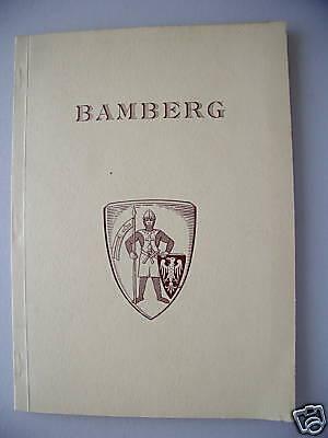 Bamberg 1957 Eine geographische Studie der Stadt