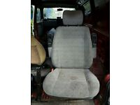 vw t4 single passsenger seat on original base.