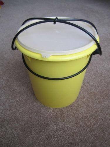 Tupperware Large Canister Ebay