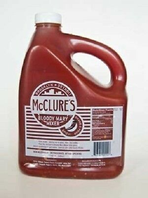 McClures Spicy Bloody Mary Mix 1 gallon