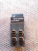 Number Plate Screws