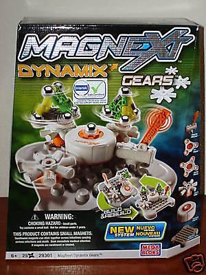 NEW MagNext 25 Piece Dynamix Gears NIB - Magnext Dynamix Gears