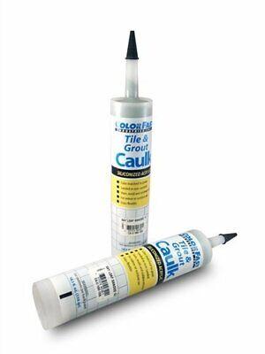 Colorfast Tile & Grout Acrylic Latex Non Sanded 10.3 oz Caulk Mapei Color Match Tile Acrylic Caulk