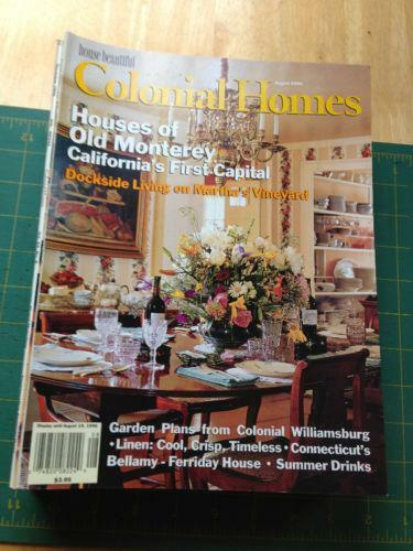 Colonial homes magazine ebay for Home builders magazine